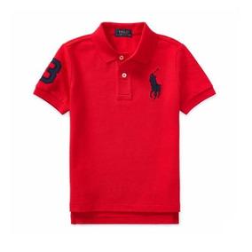 Camiseta Polo Ralph Lauren Roja - Ropa y Accesorios en Mercado Libre ... d789ec9f78596