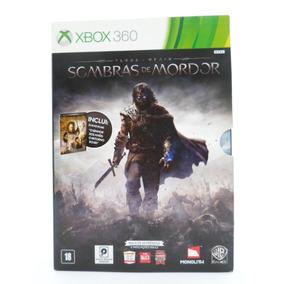Sombras De Mordor Xbox 360 Original Mídia Física + Filme