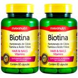 Biotina Firmeza & Crescimento - 2x60 Cápsulas - Maxinutri