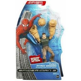 Hasbro Homem-aranha 3 - Punch Attack Sandman Homem De Areia