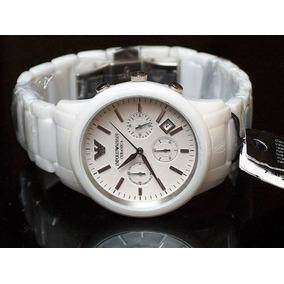 2d1e143f00b Relógio Emporio Armani Ar1453 Cerâmica Branca Caixa E Manual ...