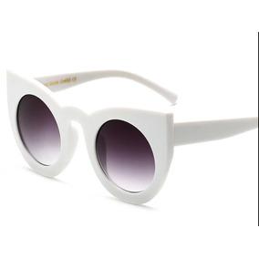 Óculos De Sol De Gatinho Redondo Oversize - Óculos no Mercado Livre ... 2273fd96e8