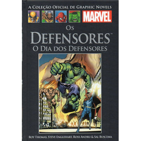 Salvat Graphic Marvel Dia Dos Defensores