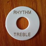 Arandelas Rhythm & Treble Blancas Para Guitarra Les Paul