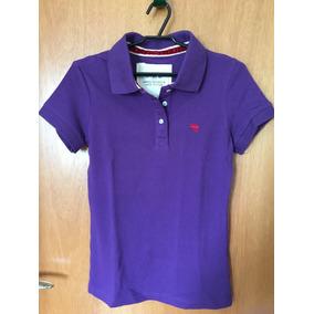 d1f6d1a855ba9 Blusa Camisa Polo Feminina Abercrombie Tamanho M. Original
