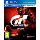 Gran Turismo Sport Ps4 Fisico Sellado Original !!!