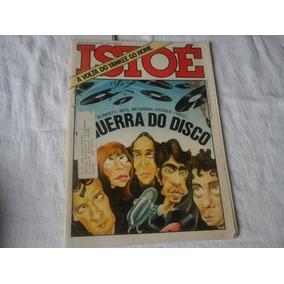Revista Isto É 1981 Industria Fonografica Em Crise Opala