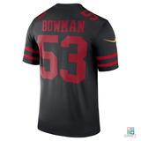e087826542 Camisa Nfl San Francisco 49ers Bowman Nike Game Draft Store