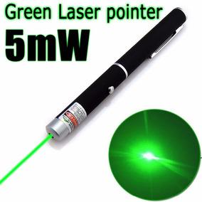 Caneta Laser Pointe Verde Jogo Luz Apresentação 5mw