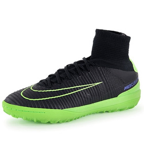 Chuteira Nike Mercurial Botinha Verde - Chuteiras no Mercado Livre ... f6078eef87471