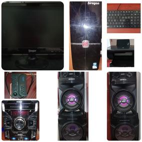 Vendo Computadora De Escritorio Y Equipo De Sonido Sony