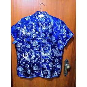 575737bb00 Camisa Social Azul Royal Feminina - Calçados