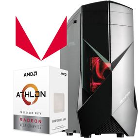 Pc Gamer Athlon 200ge Radeon Vega 3 4gb Ddr4 Ssd 120gb