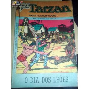 Tarzan Nº 01 4ª Série Editora Ebal -lança De Cobre - 1974