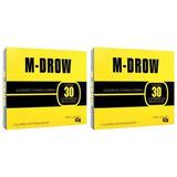 2 M-drow (60 Cáps) Massa Magra! Pump! Força No2 Testosterona