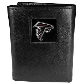 Nfl Atlanta Falcons Piel Tri-fold Wallet