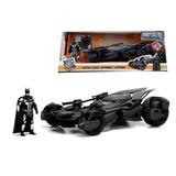 Batimovil + Batman Liga De La Justicia 1:24 Jada 99232 Nuevo