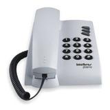 Telefone Intelbrás Pleno Cinza Artico Com Fio