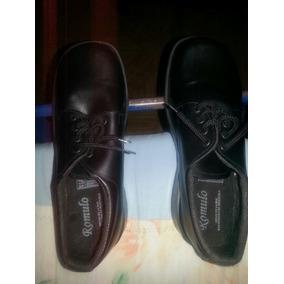 Zapatos Tipo Colegiales Marca Romulo Talla 38