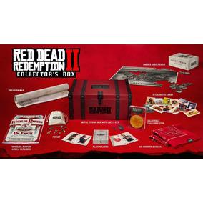 Red Dead Redemption 2 Collectors Edition Box Pronta Entrega