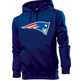 Blusa Moletom New England Patriots Futebol Americano Canguru a8d81f5c161