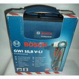 Taladro Atornillador Angular Bosch Gwi 10.8v Li-ion Nuevo