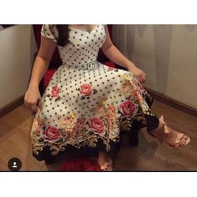 Vestido Boneca Princesa Moda Evangélica Suplex M,g,gg