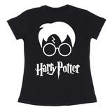 Baby Look Preta Harry Potter Reliquias Da Morte Camiseta