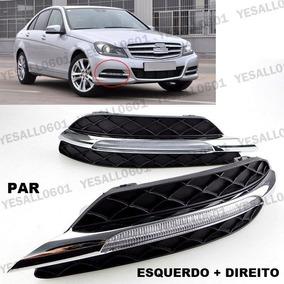 Par Farol De Milha Mercedes C180 Led Luz Diurna Drl W204