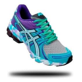 Tênis Para Caminhada Super Leve E Confortável Asics Sendai f734a61607689