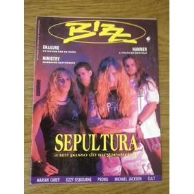 Revista Bizz Sepultura Edição 79 Fevereiro 1992