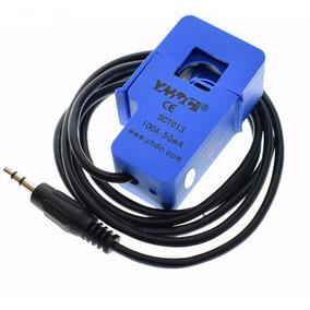 Sensor De Corrente Ac 100a Não Invasivo Sct-013-000 Arduino