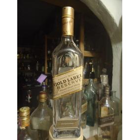 Garrafa Vazia Whisky Gold Label Reserve 750ml [orgulhodo