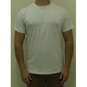 7b9cad0e92 Kit 10 Camiseta Basica Branca Tamanho G2 - Camisetas Manga Curta ...
