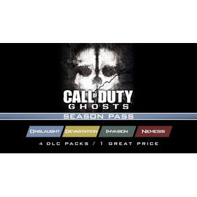 Season Pass Call Of Duty Ghosts Cod Ps3 Dlc Invasion Nemesis
