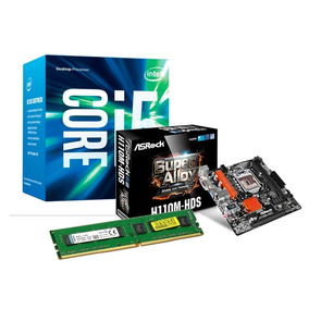 Combo Actualizacion Pc Gamer Intel I5 7400 Mother 8gb Ddr4