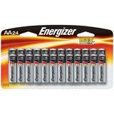 Pilas Energizer Aa Batteries, Max Alkaline, 24 Unidades