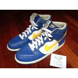 Nike Dunk High Euro Champs Pack Sweden Aka Boca Juniors Sz11