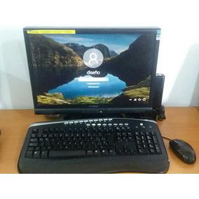 Computadora Hp Core I7, 8 Ram, 64 Bit, Dd 1 Tb, Monitor 19