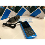 Nokia 105 Libre De Fabrica Color Azul( Dual Sim )