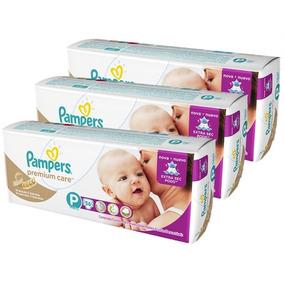 Kit Fraldas Pampers Premium Care P Com 168 Unidades