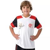 Camisa Flamengo Brasil Hexa Braziline Infantil Frete Único - Futebol ... 19ba2aab8500f