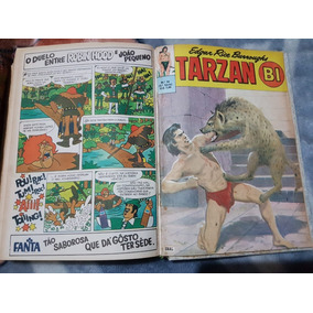 92 Revistas Raras Tarzan Em 6 Encadernados Ano 1968 Ebal