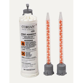 Adhesivo Para Corian® De 50ml. Color Blanco Con Dos Pipetas