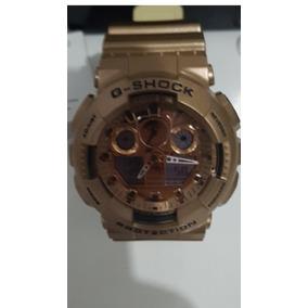 53cc79c46c1 Relogio Casio G Shock Ga 100 Dourado - Joias e Relógios no Mercado ...