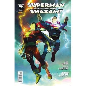 Superman & Shazam: O Primeiro Trovão 2006 (panini)