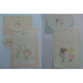 Coleção Papel De Carta Anos 80 Little Angel Lote 156