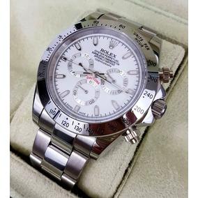 Reloj Rolex Daytona Acero Esfera Blanca Automatico