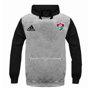 c131c9882e448 Blusa Moleton Casaco Fluminense Futebol Time Tricolor
