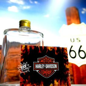 100 Bottles Design Harley Davidson # Suco & Agua H03